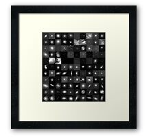Messier Image Map Framed Print