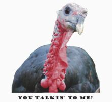 You Talkin' to Me? Turkey One Piece - Short Sleeve