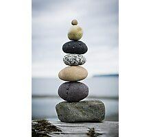 Birch Bay Balanced Rocks Photographic Print