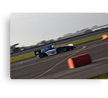 Trackday fun Canvas Print
