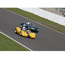 Silverstone racing Photographic Print