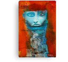 Telltale heart Canvas Print