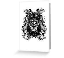 African Ink Greeting Card