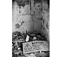 Asbestos Photographic Print