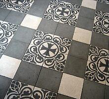 Modernist Floor of Hospital de Sant Pau by Honeyboy Martin