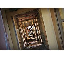 Empty halls Photographic Print