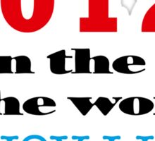2012 End of the World Sticker