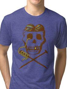 Knit For Brains Tri-blend T-Shirt