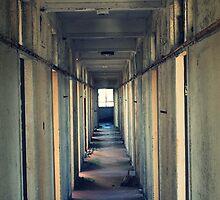Empty hallway by JHuntPhotos