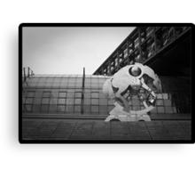 Berlin Hauptbahnhof Horse Canvas Print