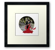 Dancing Into the Night Framed Print