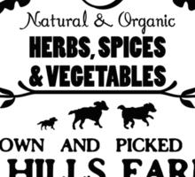 7 HILLS FARM Sticker