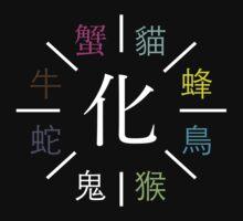 Monogatari Series Apparitions by Aljoscha Kirschner