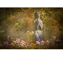 In the Garden of Longing and Dreaming Photographic Print
