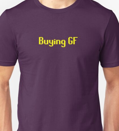 Runescape - Buying GF Unisex T-Shirt