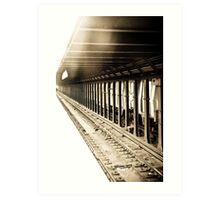 On The Tracks Art Print