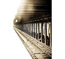 On The Tracks Photographic Print