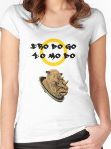 Lord of the rings judoon Women's Fitted Scoop T-Shirt