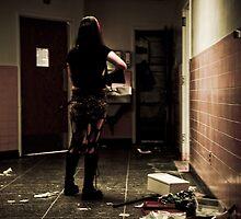 Zoe Alone by WishboneJosh
