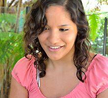 Attractive young brunette businesswoman by Ian McKenzie