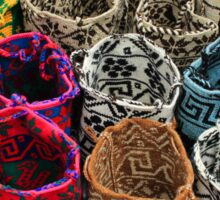 Handmade Wool Bags Sticker