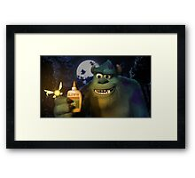 Sully and Navi Framed Print
