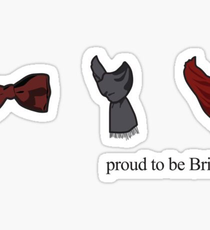 Proud to be British - TV Series Sticker