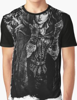 Yennefer - The Witcher Wild Hunt Graphic T-Shirt