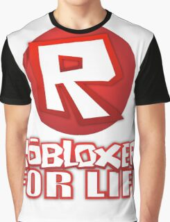 Robloxer For Life Graphic T-Shirt