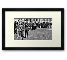 The difference Framed Print