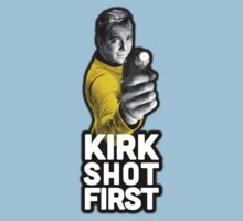 Kirk Shot First One Piece - Short Sleeve