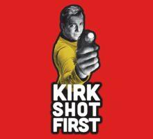 Kirk Shot First Baby Tee