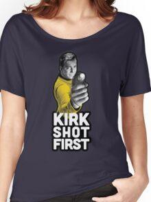 Kirk Shot First Women's Relaxed Fit T-Shirt