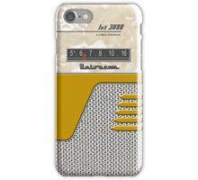 Transistor Radio - 50's Jet Gold iPhone Case/Skin