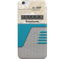 Transistor Radio - 50's Jet Aquamarine iPhone Case/Skin