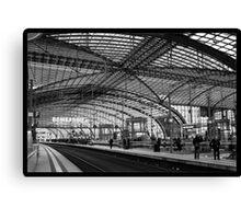 Berlin Hauptbahnhof Station Canvas Print