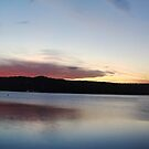 Sunset At Gosford Waterfront (Panorama)  by Timothy Ciantar