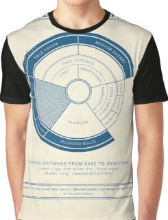 The Wheel of Sherries Graphic T-Shirt