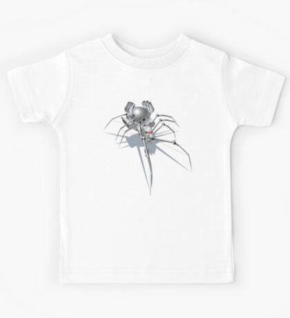 Nano Tech War Spider Kids Tee