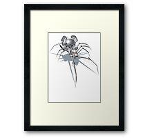 Nano Tech War Spider Framed Print