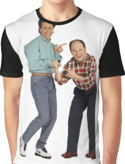 George and Jerry Graphic T-Shirt