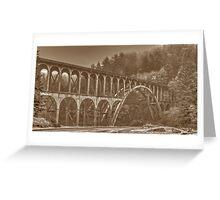 101 Bridge - Florence Greeting Card