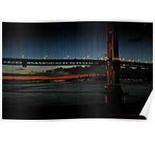 San Francisco early morning from the Golden Gate Poster