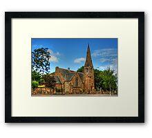 St. Ninian's Craigmailen Parish Church Framed Print