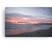 Bay of Skaill sunset Canvas Print