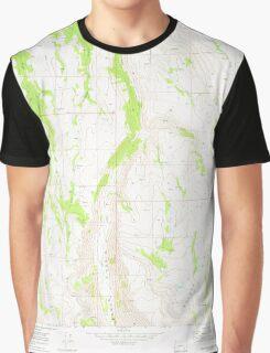 USGS Topo Map Oregon Big Pasture Creek 279029 1968 24000 Graphic T-Shirt