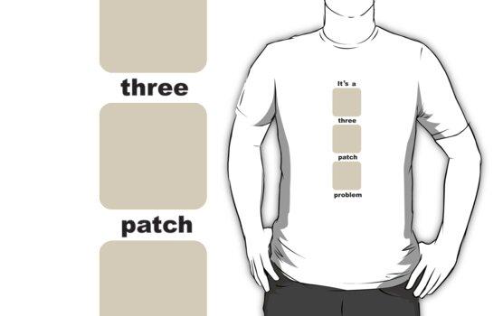 3 patch problem by LadyCupcake