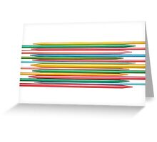 Knitting Needles Greeting Card