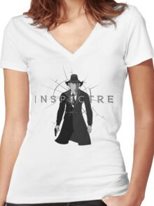 Inspectre Gadget Women's Fitted V-Neck T-Shirt