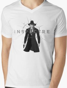 Inspectre Gadget Mens V-Neck T-Shirt